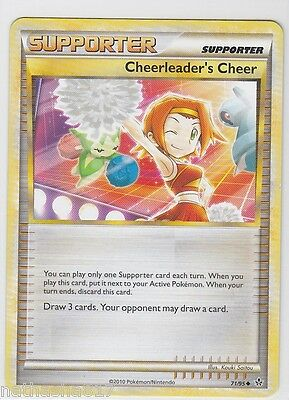 Cheerleader's Cheer - 71/95 - Uncommon NM-Mint Pokemon HS Unleashed