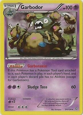 Garbodor 54/124 B&W Dragons Exalted  HOLO PERFECT MINT! Pokemon