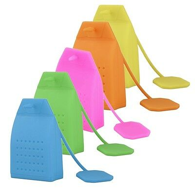 Чай Infusers Bag Shape Silicone Tea