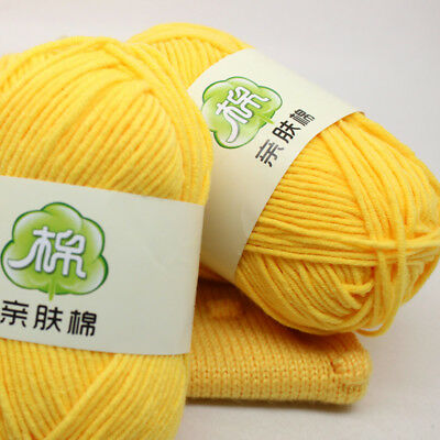 пряжа 50g Crochet Yarn Milk Knitting