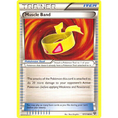 Muscle Band XY Set 121/146 Pokemon Trading Card Excellent Condition
