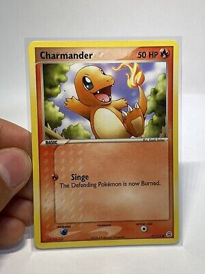 Pokemon CHARMANDER 57/112 FireRed & LeafGreen - Near Mint Condition