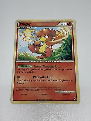 Pokemon - Magby - 46/95 Non Holo Call of Legends LP