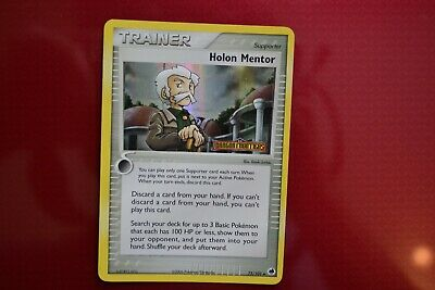 Pokemon Dragon Frontiers Reverse Holo Holon Mentor Near Mint to Mint Condition