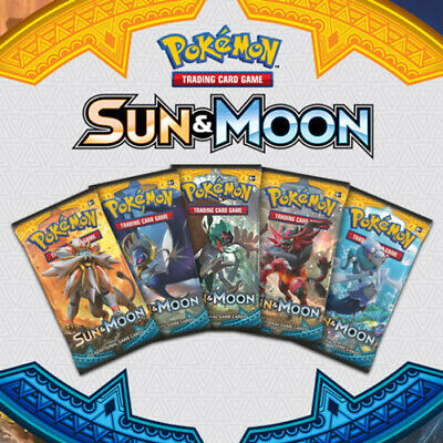 Pokemon Cards Sun and Moon Base Set