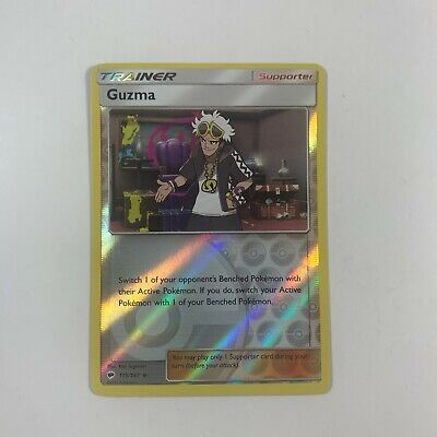 Pokemon Burning Shadows - Guzma Reverse Holofoil 115/147 NM