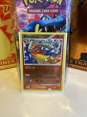 Pokemon Card Blaziken LV.59 Platinum 3/127 EXCELLENT/NEAR MINT Reverse Holo Rare