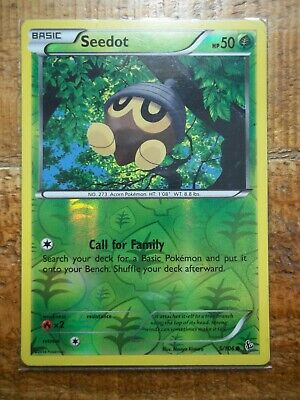 pokemon cards 5/106 Seedot holo flashfire pokemon card