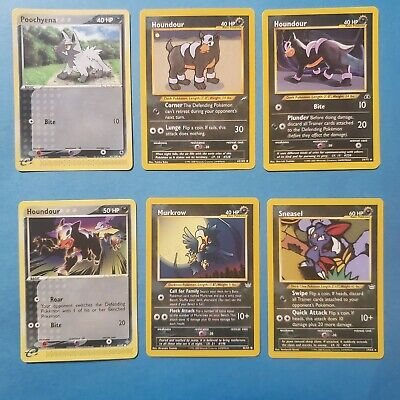 Dark type Pokemon Cards, all NM/+ -- YOU CHOOSE THEM!