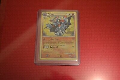 Pokemon HS Undaunted Holo Gliscor Excellent to Near Mint condition