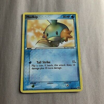 Mudkip 56/106 Common EX Emerald LP Pokemon card