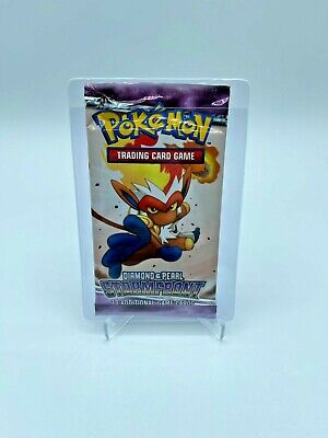 2008 Pokemon Card Diamond & Pearl Stormfront Booster Pack Sealed *Infernape*