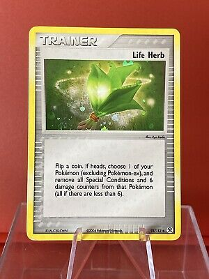 Life Herb 93/112   EX FireRed & LeafGreen   Reverse Holo   Vintage Pokemon
