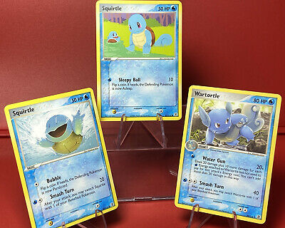 Squirtle 83 & 84 | Wartortle 50/112 | EX Firered & Leafgreen |  | Pokemon NM