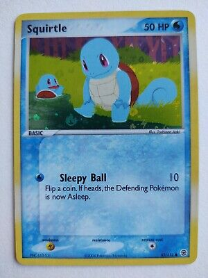 Squirtle 82/112 - FireRed & LeafGreen Holofoil Pokemon 2004 - NM/M
