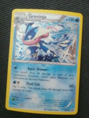 POKEMON GRENINJA XY162 XY SERIES BLACK STAR HOLO PROMO NEAR MINT Pack Fresh
