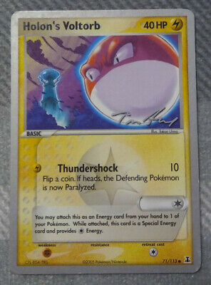 2005 Pokemon EX Delta Species Set Holon's Voltorb