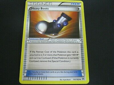 Pokemon Card BREAKthrough Number 141 HEAVY BOOTS