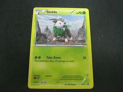 Pokemon Card Furious Fists Promo Number XY11 SKIDDO