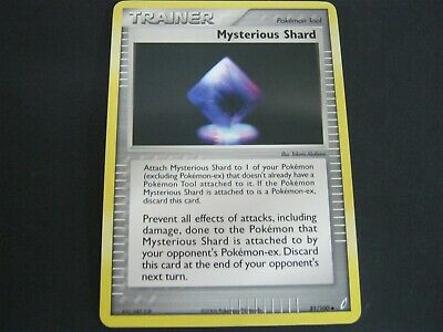 Pokemon Card Ex Crystal Guardians Number 81 MYSTERIOUS SHARD