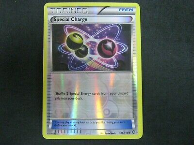 Pokemon Card Steam Siege Holo SPECIAL CHARGE Number 105