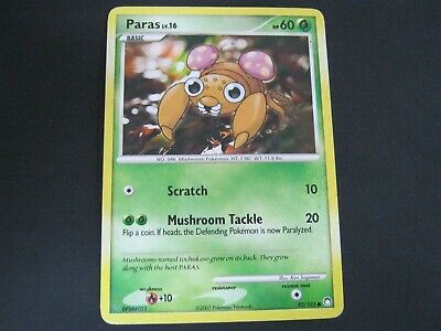 Pokemon Card Mysterious Treasures Number 92 PARAS