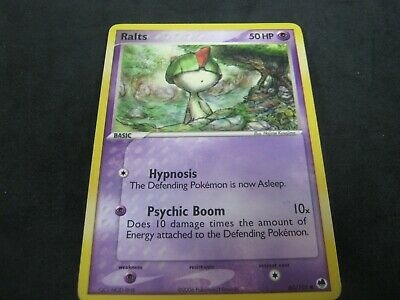 Pokemon Card Ex Dragon Frontiers Number 60 RALTS