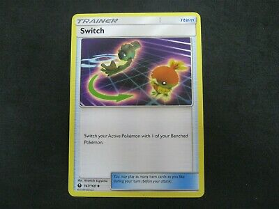 Pokemon Card Celestial Storm Number 147 SWITCH