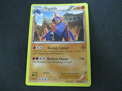 Pokemon Card (1) Dragons Exalted Holo Number 67 GIGALITH