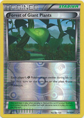 Forest of Giant Plants 74/98 XY Ancient Origins REVERSE HOLO MINT! Pokemon