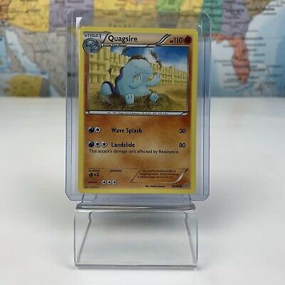 SHIPS SAME DAY Pokemon Card Quagsire 39/98 Fighting Type 2015 XY Ancient Origins