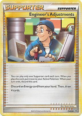 Engineer's Adjustments 75/95 HS Unleashed PERFECT MINT! Pokemon
