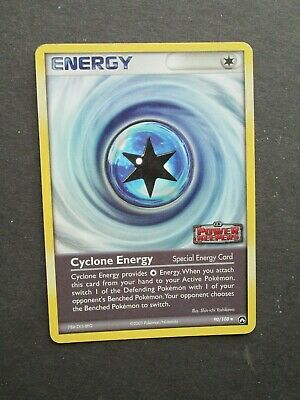 Pokemon CYCLONE ENERGY 90/108 - EX POWER KEEPERS HOLO - (PL/EX)