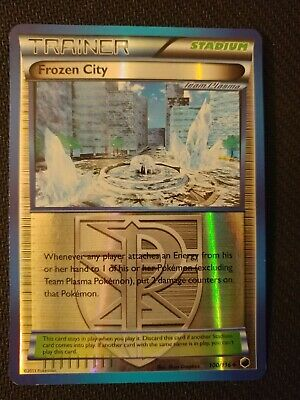 Pokemon Frozen City - 100/116 - B&W Plasma Freeze - Reverse Foil Uncommon - VLP