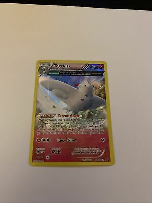 Pokemon - Togekiss Holo Rare XY Roaring Skies - 46/108 - NM - Togetic Reverse