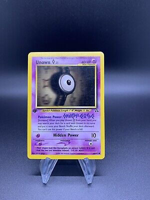 Pokemon Neo Discovery 1st Edition 68 Unown I - NM