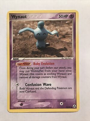 Wynaut Ex Legend Maker Common Pokemon Card 71/92