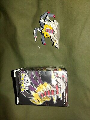 Pokemon Platinum Pre-Order Exclusive Giratina Figure with box as is
