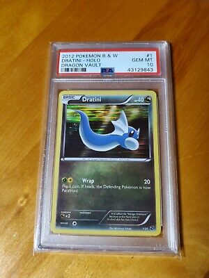 PSA 10 Pokemon, Dratini Holo #1, 2012 Dragon Vault