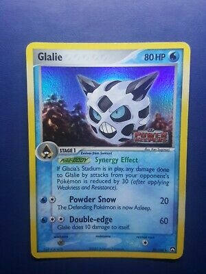 Glalie 30/108 Reverse Holo Pokemon Card EX Power Keepers 2007 - Vg