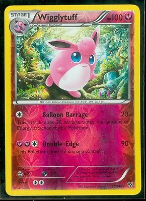 Pokemon WIGGLYTUFF 90/146 - XY RARE Rev Holo MINT!