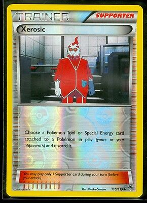 Pokemon XEROSIC 110/119 - XY Phantom Forces Rev Holo MINT!