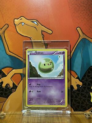 Solosis Black And White Legendary Treasures NM 74/113 Pokemon Card