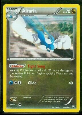 Pokemon ALTARIA 84/124 Dragons Exalted RARE HOLO - NEAR MINT/MINT