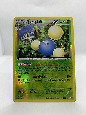 2012 Jumpluff Holo Rare Reverse Dragons Exalted Pokemon Card NM 3/124