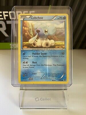 Cubchoo 29/98 - Common Pokemon Card - Emerging Powers Set (2011) - NM