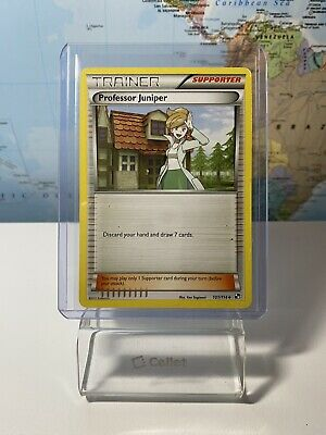 Professor Juniper 101/114 - Uncommon Pokemon Card - Black & White Set - LP