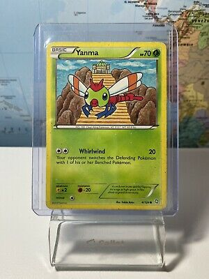 Yanma 4/124 - Common Pokemon Card - Dragons Exalted Set (2012) - HP