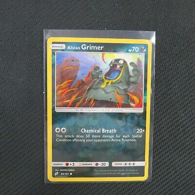 Alolan Grimer 83/181 Reverse Holo Team Up Pokemon Card TCG
