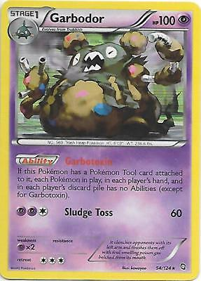GARBODOR 54/124 B&W Dragons Exalted Holo Pokemon Card  EX